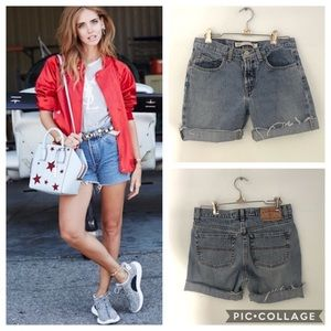 Vintage Express Denim High Rise Cut-Offs